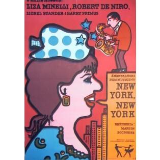 New York, New York Martin Scorsese Jan Młodożeniec Polskie Plakaty Filmowe