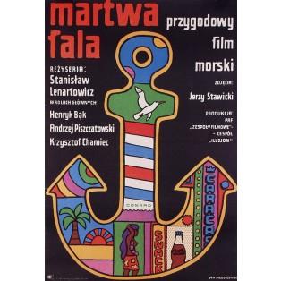 Martwa fala Jan Młodożeniec Polskie Plakaty Filmowe