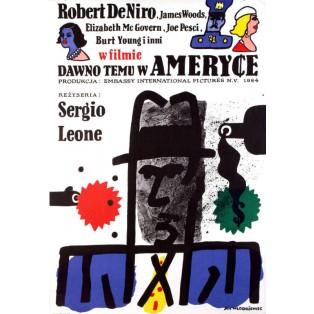 Dawno temu w Ameryce Jan Młodożeniec Polskie Plakaty Filmowe