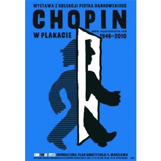 Chopin w plakacie Piotr Młodożeniec Polskie Plataty Wystawowe