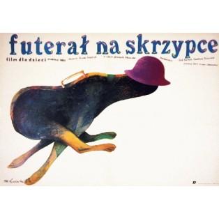 Futerał na skrzypce Gunter Friedrich Marian Nowiński Polskie Plakaty Filmowe