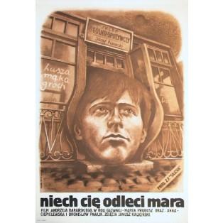Niech cię odleci mara Andrzej Barański Marek Płoza-Doliński Polskie Plakaty Filmowe