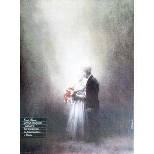 Przed sklepem jubilera Karol Wojtyła Jan Jaromir Aleksiun Polskie Plakaty Teatralne