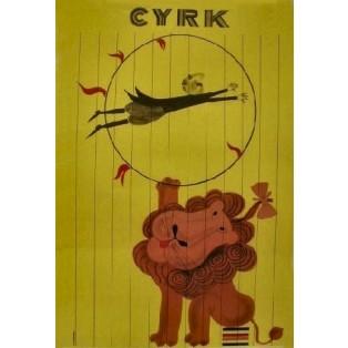 Cyrk Antoni Cetnarowski Polskie Plakaty Cyrkowe