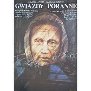Gwiazdy poranne Henryk Bielski Krystyna Hoffman-Pągowska Polskie Plakaty Filmowe