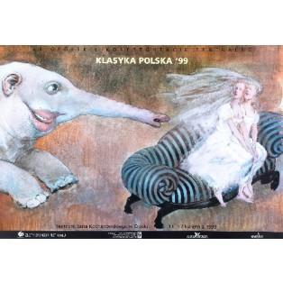 Konfrontacje Teatralne Opole 24. Andrzej Sznejweis Polskie Plakaty Teatralne