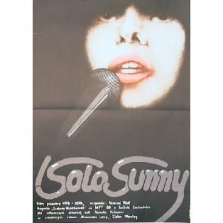 Solo Sunny Konrad Wolf Krystyna Hoffman-Pągowska Polskie Plakaty Filmowe