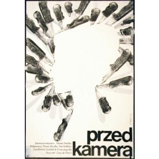 Przed kamerą Mircea Daneliuc Jaime Carlos Nieto Polskie Plakaty Filmowe