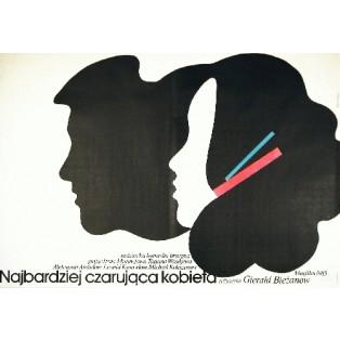 Najbardziej czarująca kobieta Gerald Bezhanov Andrzej Nowaczyk Polskie Plakaty Filmowe