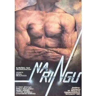 Na ringu Sergiu Nicolaescu Janusz Obłucki Polskie Plakaty Filmowe