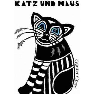 Kot i mysz Günter Grass Karolina Gładkiewicz Polskie Plakaty Teatralne