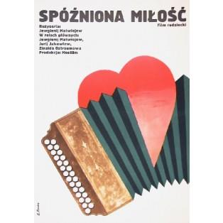 Spóźniona miłość Yevgeni Matveyev Elżbieta Procka Polskie Plakaty Filmowe