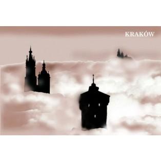 Kraków Jędrzej Bobowski Polskie Plakaty