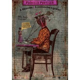 Polnisch Poetisch Buchbund Kaja Renkas Polskie Plakaty
