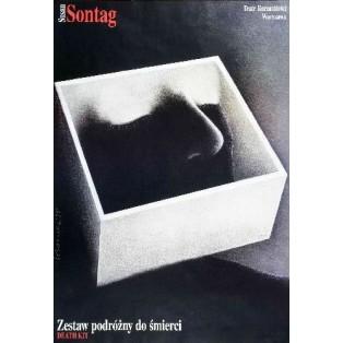 Zestaw podróżny do śmierci Wiesław Rosocha Polskie Plakaty Teatralne