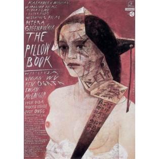 The Pillow Book  Wiktor Sadowski Polskie Plakaty Filmowe