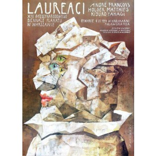 Laureaci 13. Bienale Plakatu 1994 Wiktor Sadowski Polskie Plataty Wystawowe