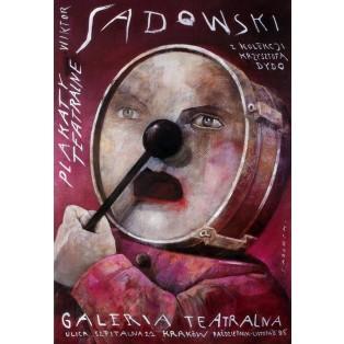 Plakaty teatralne. Galeria teatralna Plakaty z koleklcji Dydo Wiktor Sadowski Polskie Plataty Wystawowe