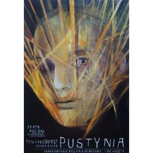 Pustynia Tankred Dorst Wiktor Sadowski Polskie Plakaty Teatralne