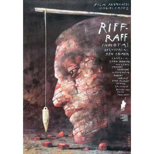 Riff Raff Wiktor Sadowski Polskie Plakaty Filmowe