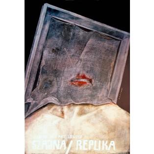 Szajna Replika Józef Szajna Wiktor Sadowski Polskie Plakaty Teatralne