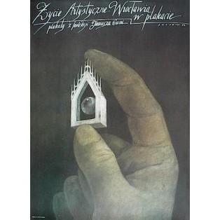 Życie artystyczne Wrocławia w plakacie. Plakaty z kolekcji Janusza Guni Wiktor Sadowski Polskie Plataty Wystawowe