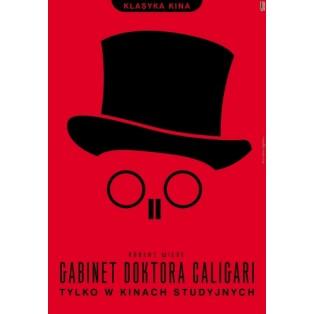 Gabinet doktora Caligari Robert Wiene Joanna Górska Jerzy Skakun Polskie Plakaty Filmowe