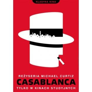 Casablanca Michael Curtiz Joanna Górska Jerzy Skakun Polskie Plakaty Filmowe