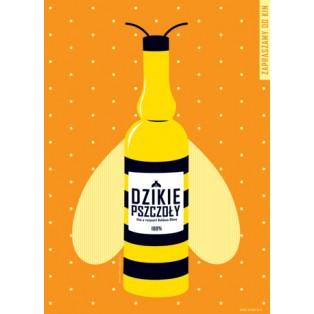 Dzikie pszczoły Bohdan Slama Joanna Górska Jerzy Skakun Polskie Plakaty Filmowe