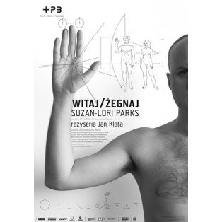 Witaj żegnaj Joanna Górska Jerzy Skakun Polskie Plakaty Teatralne