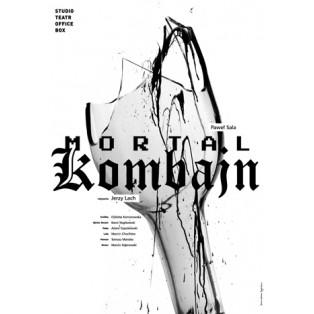 Mortal kombajn Joanna Górska Jerzy Skakun Polskie Plakaty Teatralne