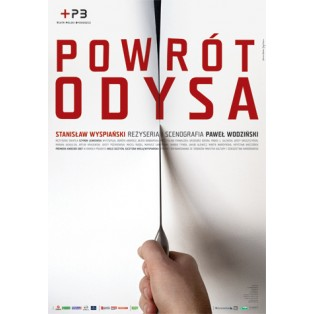 Powrót Odysa Joanna Górska Jerzy Skakun Polskie Plakaty Teatralne