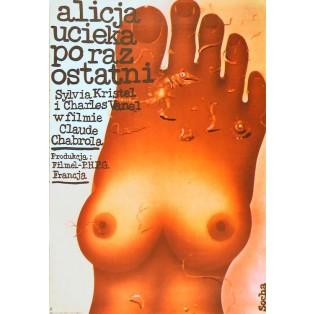 Alicja ucieka po raz ostatni Romuald Socha Polskie Plakaty Filmowe
