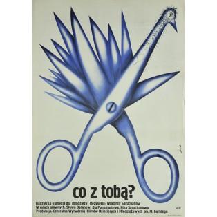 Co z Tobą? Romuald Socha Polskie Plakaty Filmowe