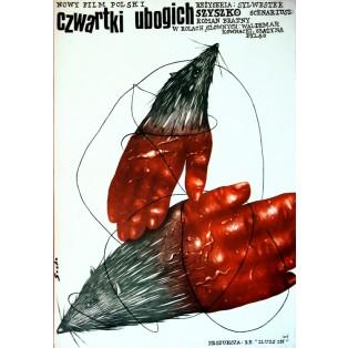 Czwartki ubogich Romuald Socha Polskie Plakaty Filmowe