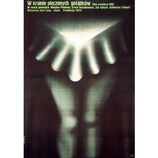 W krainie pieczonych gołąbków Romuald Socha Polskie Plakaty Filmowe