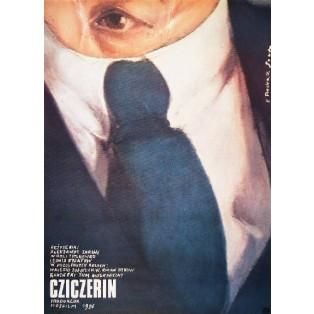 Cziczerin Aleksandr Zarkhi Romuald Socha Polskie Plakaty Filmowe