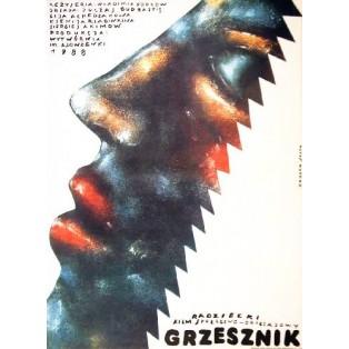 Grzesznik Vladimir Popkov Romuald Socha Polskie Plakaty Filmowe