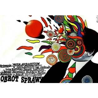 Obrót sprawy Romuald Socha Polskie Plakaty Filmowe