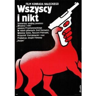 Wszyscy i nikt Romuald Socha Polskie Plakaty Filmowe