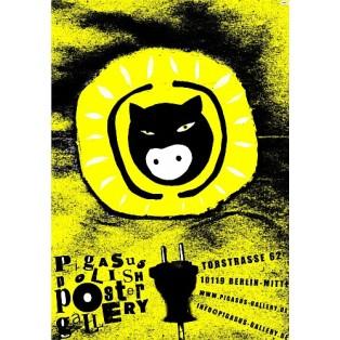 Pigasus Polish Poster Gallery Monika Starowicz Polskie Plakaty