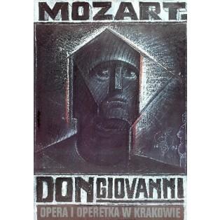 Don Giovanni Krakow Franciszek Starowieyski Polskie Plakaty Operowe