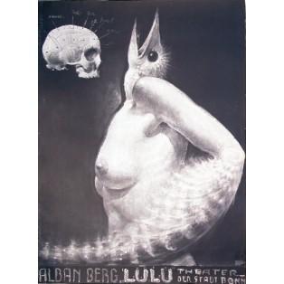 Lulu Franciszek Starowieyski Polskie Plakaty Teatralne