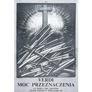 Moc przeznaczenia Franciszek Starowieyski Polskie Plakaty Operowe