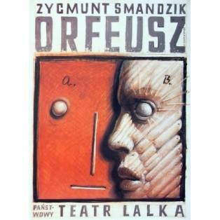Orfeusz Franciszek Starowieyski Polskie Plakaty Teatralne