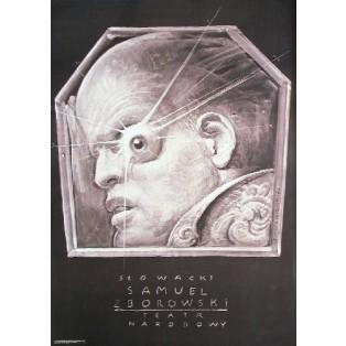 Samuel Zborowski Franciszek Starowieyski Polskie Plakaty Teatralne