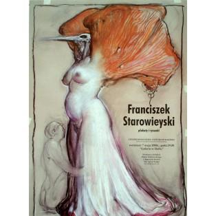 Plakaty i rysunki Franciszek Starowieyski Polskie Plataty Wystawowe
