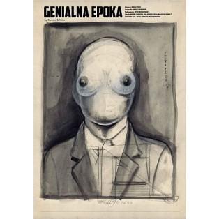 Genialna Epoka Bruno Schulz  Franciszek Starowieyski Polskie Plakaty Teatralne