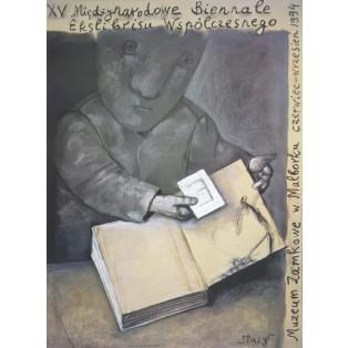 Biennale Exlibrisu Malbork - 15. Stasys Eidrigevicius Polskie Plataty Wystawowe