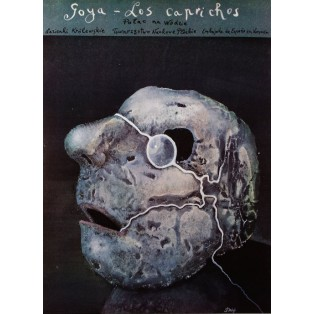 Goya Los Caprichos Stasys Eidrigevicius Polskie Plataty Wystawowe